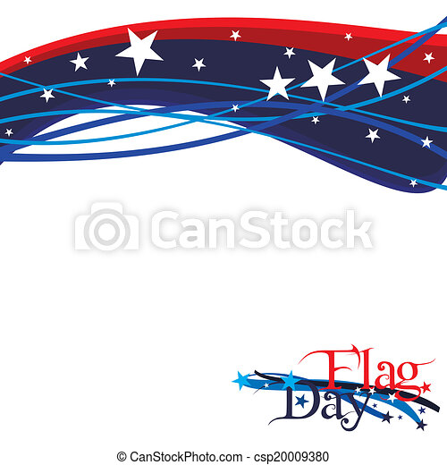 Flag Day - csp20009380