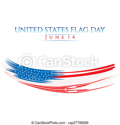 Flag Day - csp37799269