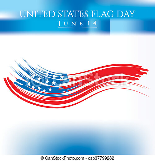 Flag Day - csp37799282