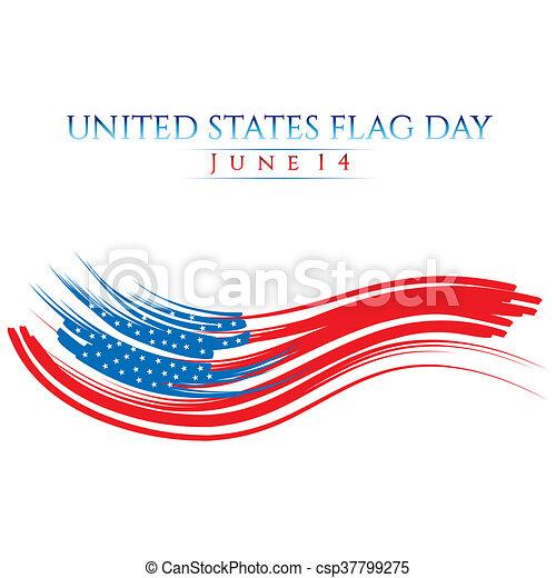 Flag Day - csp37799275
