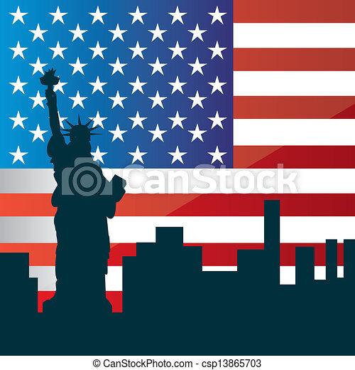 flag day - csp13865703