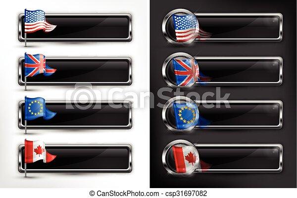 Flag icons - csp31697082