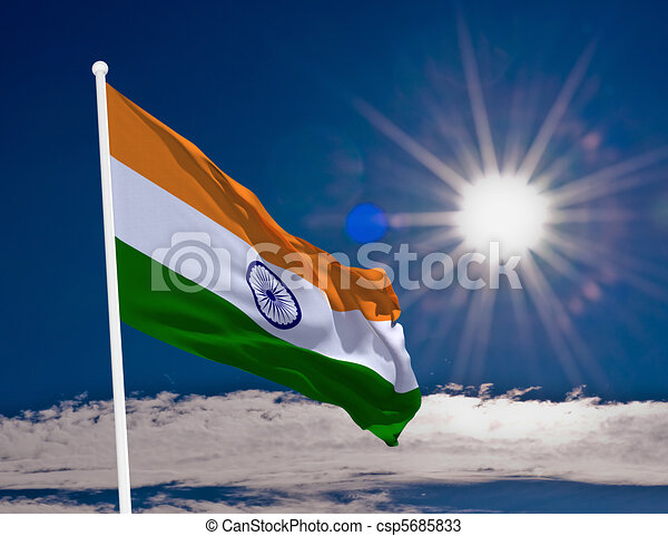 Flag India High Resolution Image Of The National Flag Of India