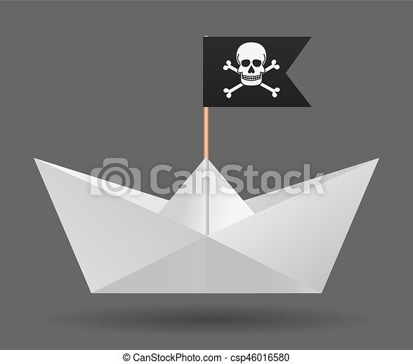 Flag Isole Object Arriere Plan Papier Blanc Pirate Bateau Image Flag Isole Object Papier Arriere Plan Canstock
