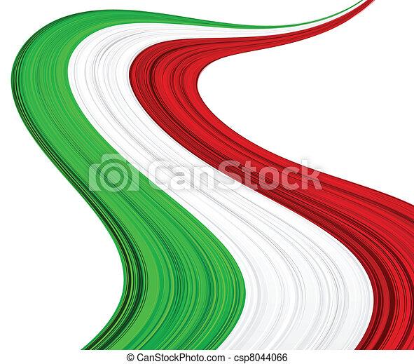 flag., italiano - csp8044066