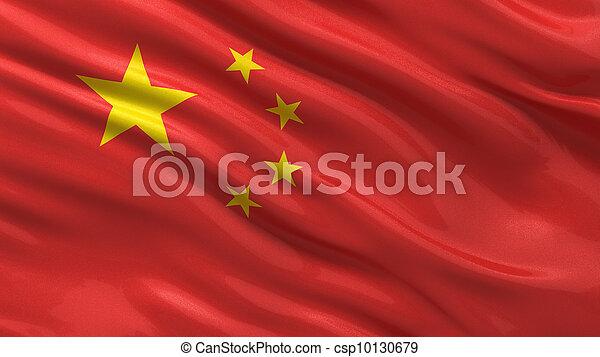 flag, kina - csp10130679