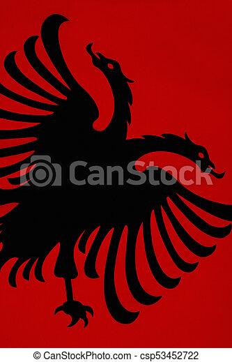 Flag of Albania - csp53452722