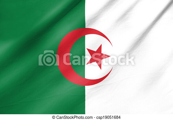 Flag of Algeria - csp19051684