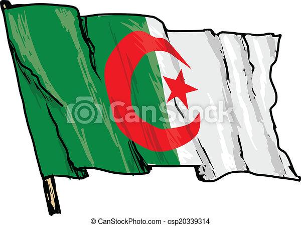 flag of Algeria - csp20339314