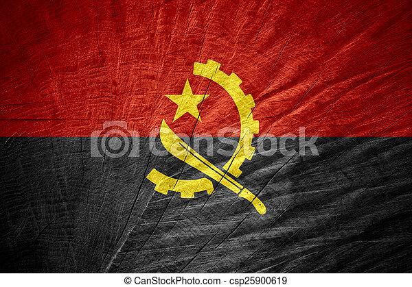 flag of Angola - csp25900619