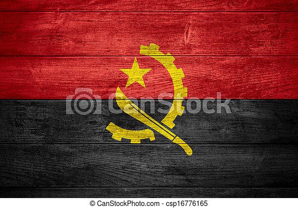 flag of Angola - csp16776165