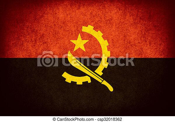 flag of Angola - csp32018362