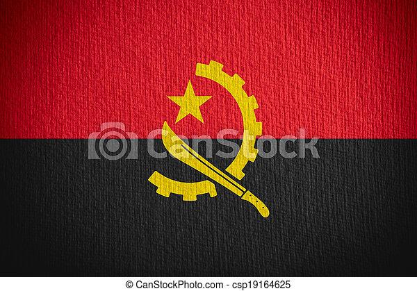 flag of Angola - csp19164625