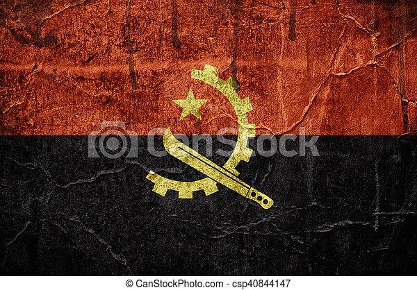 Flag of Angola - csp40844147