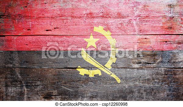 Flag of Angola - csp12260998