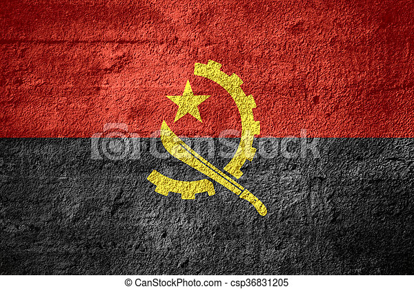 flag of Angola - csp36831205
