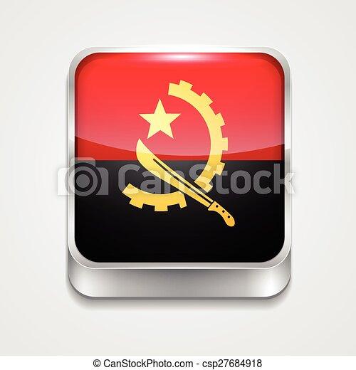 flag of angola - csp27684918