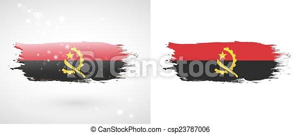 flag of Angola - csp23787006