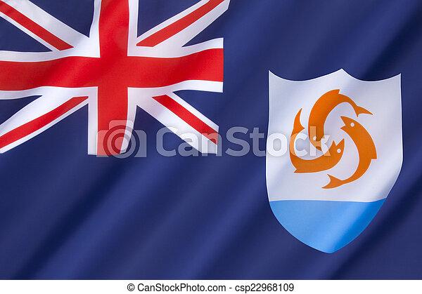 Flag of Anguilla - csp22968109
