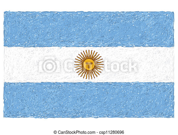 flag of argentina - csp11280696