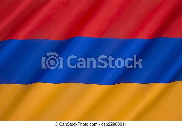 Flag of Armenia - csp22968011