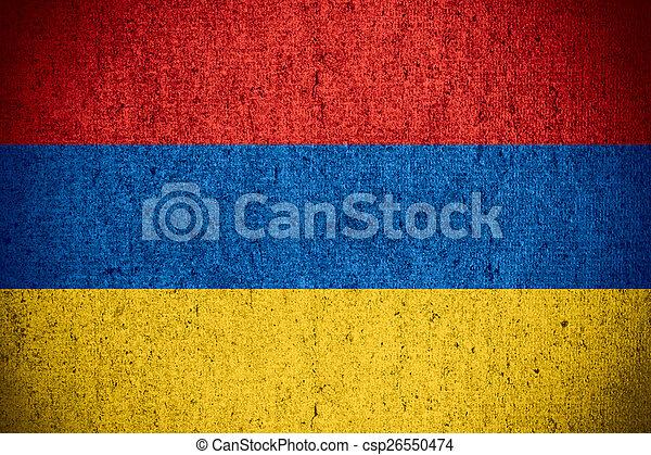 flag of Armenia - csp26550474