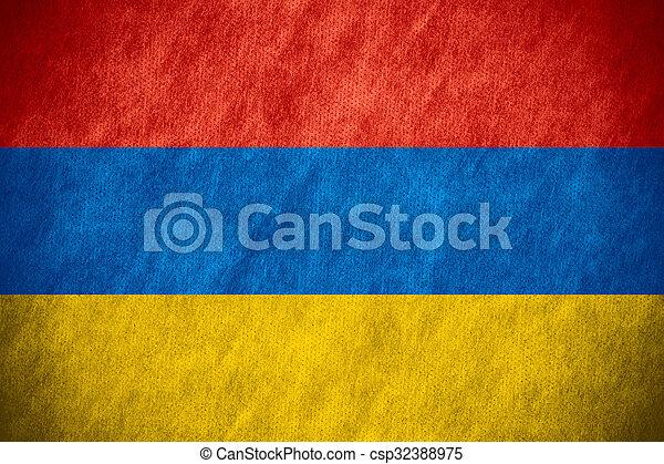 flag of Armenia - csp32388975
