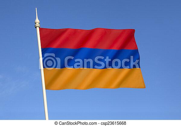 Flag of Armenia - csp23615668