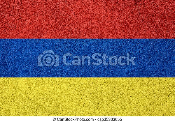 flag of Armenia - csp35383855