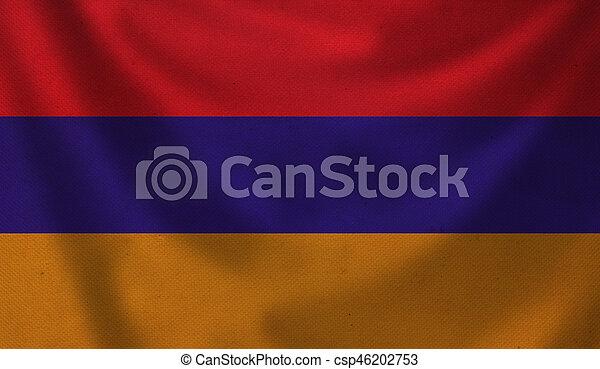 Flag of Armenia. - csp46202753