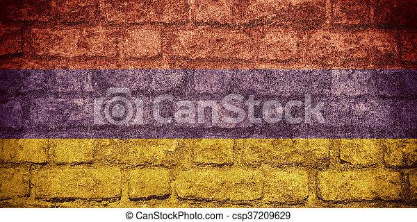 flag of Armenia - csp37209629