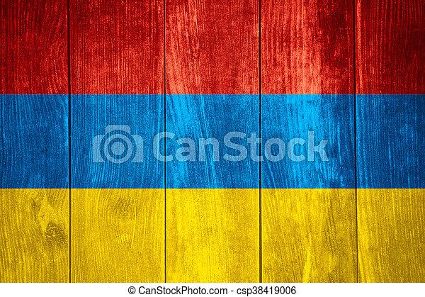 flag of Armenia - csp38419006