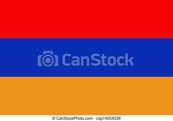 Flag of Armenia - csp14054339