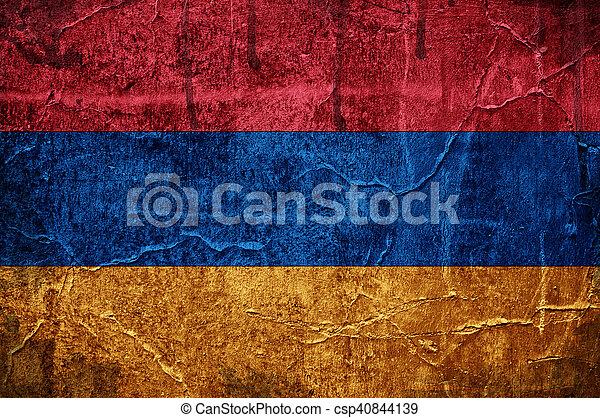 Flag of Armenia - csp40844139