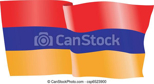 flag of Armenia - csp6523900