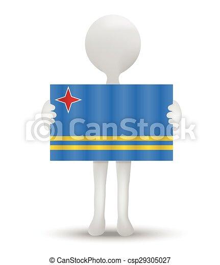 flag of Aruba - csp29305027