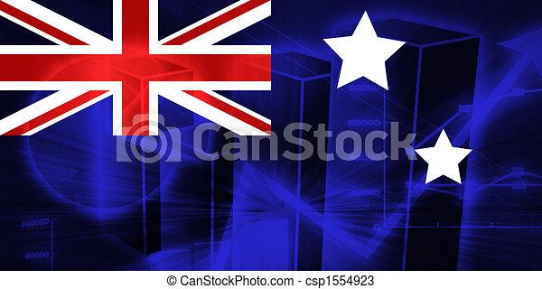 Flag of Australia - csp1554923