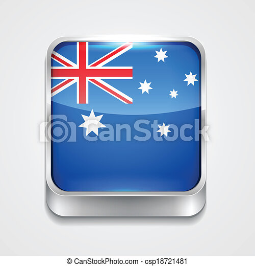 flag of australia - csp18721481