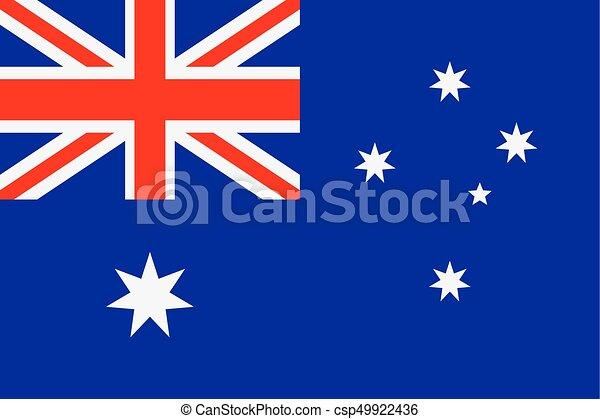 Flag of Australia - csp49922436
