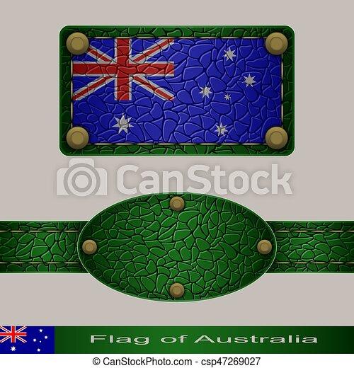 Flag of Australia - csp47269027