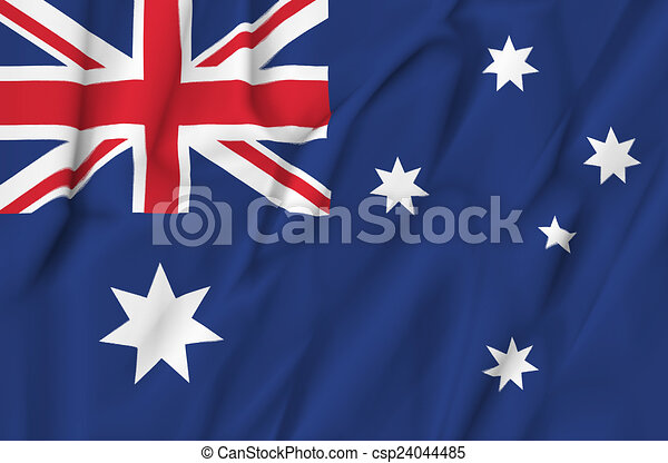 Flag of Australia - csp24044485