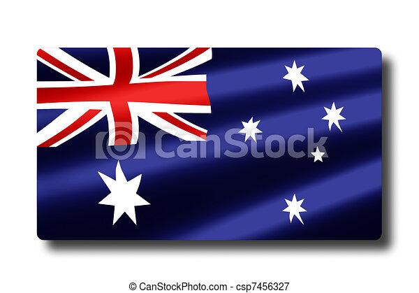 Flag of Australia - csp7456327