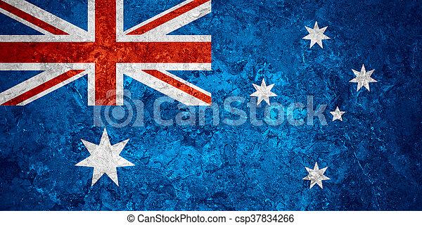 flag of Australia - csp37834266
