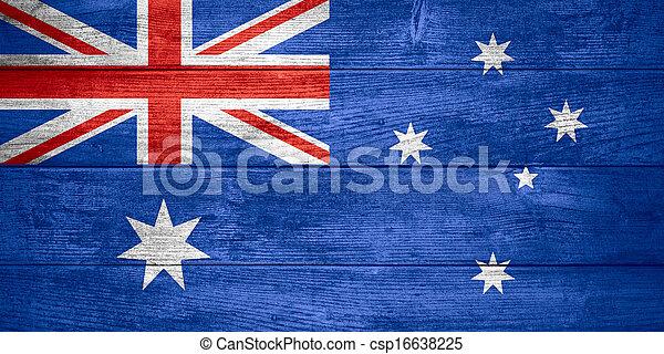 flag of Australia - csp16638225