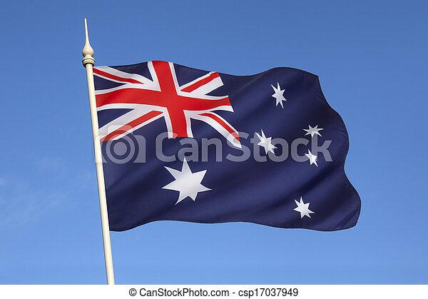 Flag of Australia - csp17037949