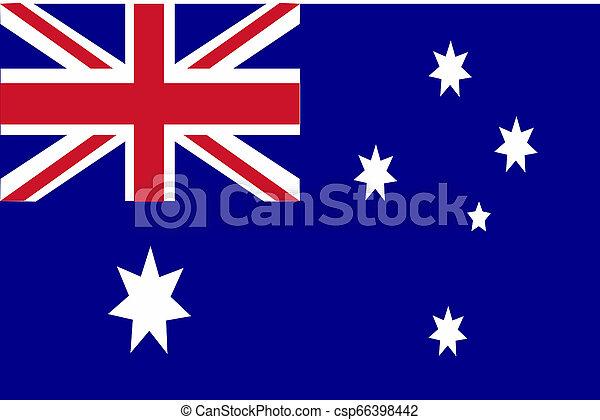 Flag of Australia - csp66398442