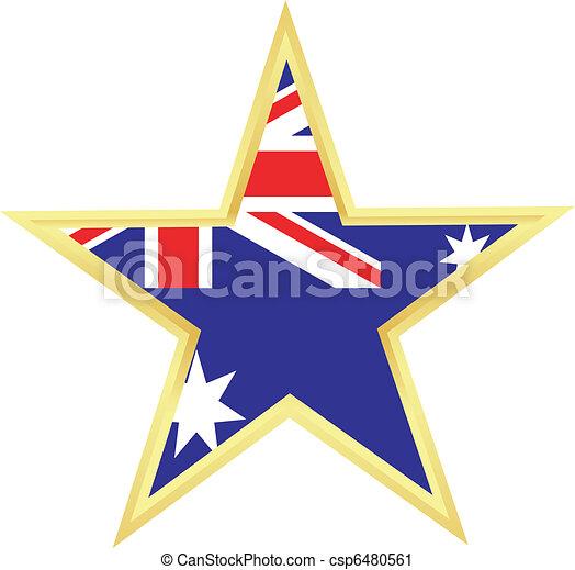 flag of Australia - csp6480561