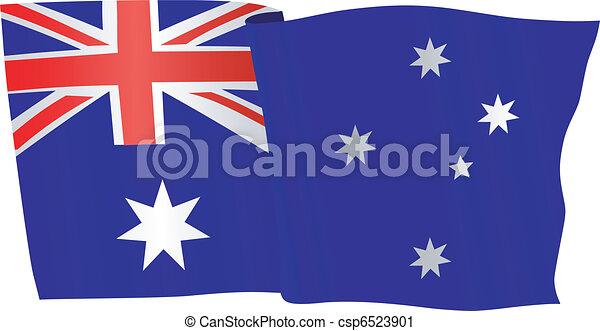 flag of Australia - csp6523901