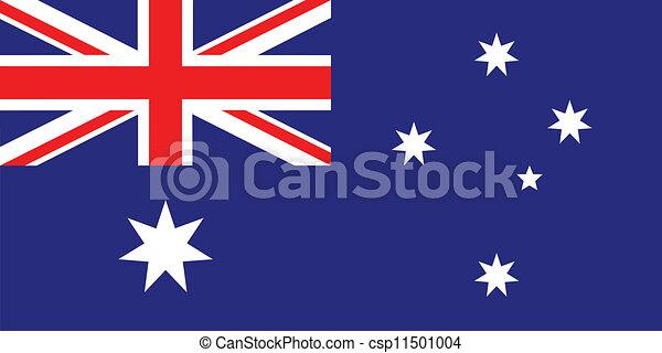 Flag of Australia - csp11501004