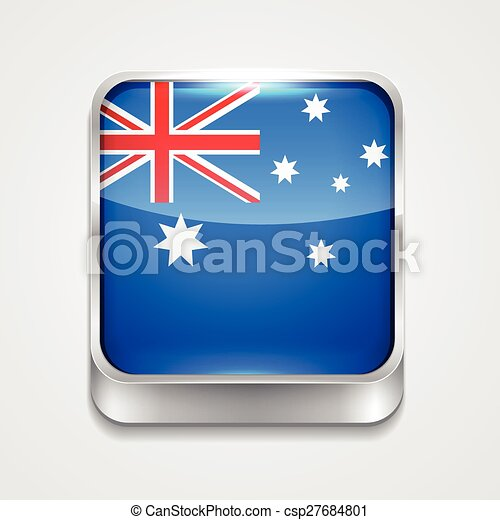 flag of australia - csp27684801